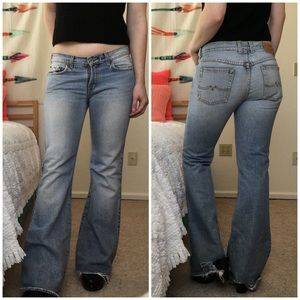 Distressed Denim Lucky Brand Jeans